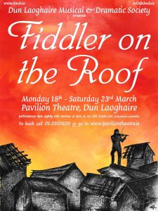 Fiddler On The Roof - Facebook Poster