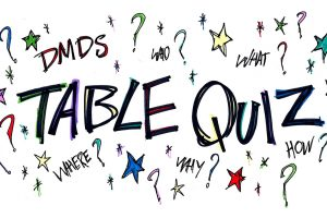 DMDS Table Quiz