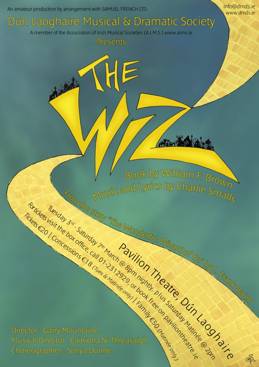 The Wiz Poster (A4)