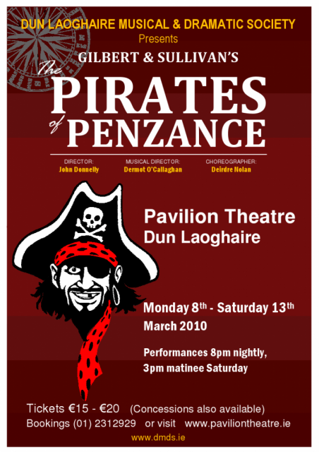 Pirates of Penzance Flyer